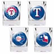 Texas Rangers Collector's Shot Glass Set