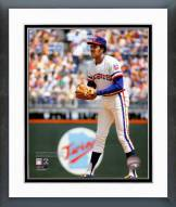 Texas Rangers Ferguson Jenkins Action Framed Photo