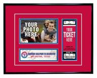 Texas Rangers Game Day Ticket Frame