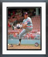 Texas Rangers Gaylord Perry Action Framed Photo