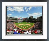 Texas Rangers Globe Life Park 2015 Framed Photo
