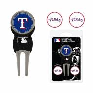Texas Rangers Golf Divot Tool Pack