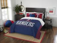 Texas Rangers Grand Slam Full/Queen Comforter Set