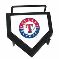 Texas Rangers Home Plate Coaster Set