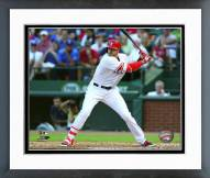 Texas Rangers Joey Gallo 2015 Action Framed Photo