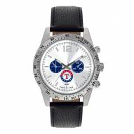 Texas Rangers Men's Letterman Watch