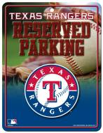 Texas Rangers Metal Parking Sign