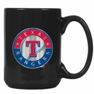 Texas Rangers MLB 2-Piece Ceramic Coffee Mug Set