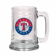 Texas Rangers MLB 2-Piece Glass Tankard Beer Mug Set