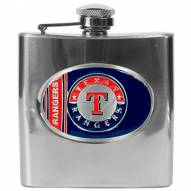 Texas Rangers MLB 6 Oz. Stainless Steel Hip Flask