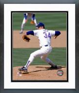Texas Rangers Nolan Ryan 1990 Action Framed Photo
