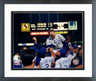 Texas Rangers Nolan Ryan 6th No Hitter Celebration Framed Photo