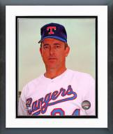 Texas Rangers Nolan Ryan Posed Framed Photo