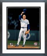 Texas Rangers Nolan Ryan Waving Hat Framed Photo