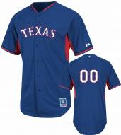 Texas Rangers Personalized Authentic Batting Practice Baseball Jersey