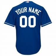 Texas Rangers Personalized Replica Royal Alternate Baseball Jersey