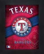 Texas Rangers Framed 3D Wall Art