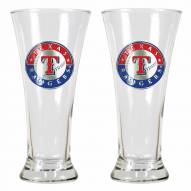 Texas Rangers Premiere Pilsner Glass Set