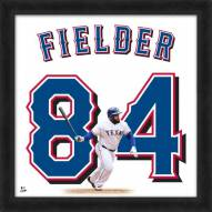 Texas Rangers Prince Fielder Uniframe Framed Jersey Photo