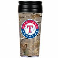 Texas Rangers RealTree Camo Coffee Mug Tumbler