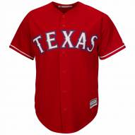 Texas Rangers Replica Scarlet Alternate Baseball Jersey