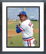 Texas Rangers Sandy Alomar Sr. Framed Photo