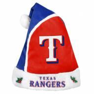 Texas Rangers Santa Hat