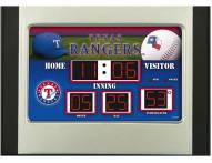Texas Rangers Scoreboard Desk Clock