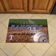 Texas Rangers Scraper Door Mat