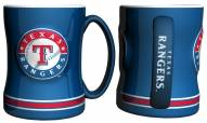 Texas Rangers Sculpted Relief Coffee Mug