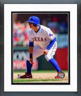 Texas Rangers Shin-Soo Choo 2014 Action Framed Photo