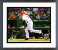 Texas Rangers Shin-Soo Choo 2015 Action Framed Photo