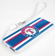 Texas Rangers Slim Power Bank Portable Charger