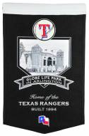 Texas Rangers Stadium Banner