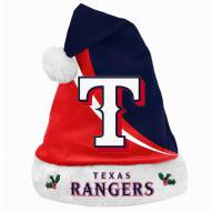 Texas Rangers Swoop Santa Hat