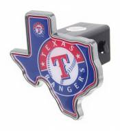 Texas Rangers Texas Shaped Trailer Hitch Cover