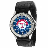 Texas Rangers Veteran Velcro Mens Watch