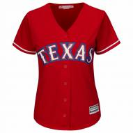 Texas Rangers Women's Replica Scarlet Alternate Baseball Jersey