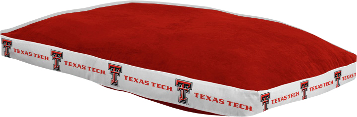 "Texas Tech Red Raiders 26"""" x 37"""" Dog Bed"