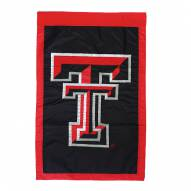 "Texas Tech Red Raiders 28"" x 44"" Double Sided Applique Flag"