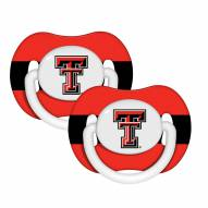 Texas Tech Red Raiders Pacifiers - 2 Pack