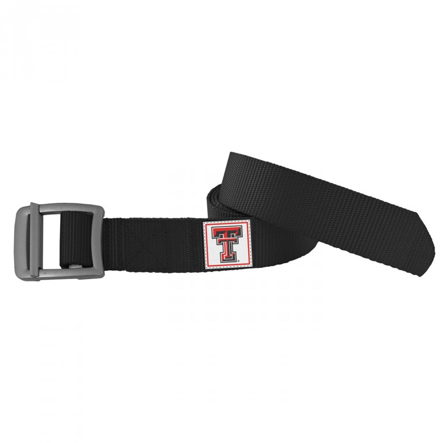 Texas Tech Red Raiders Black Field Belt