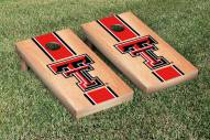 Texas Tech Red Raiders Hardcourt Stripe Cornhole Game Set