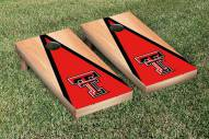 Texas Tech Red Raiders Hardcourt Triangle Cornhole Game Set