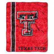 Texas Tech Red Raiders Jersey Sherpa Blanket
