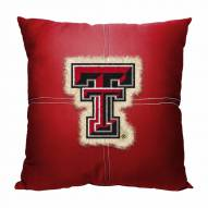 Texas Tech Red Raiders Letterman Pillow