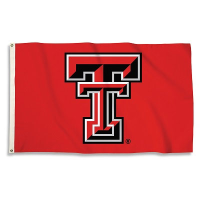 Texas Tech Red Raiders Logo 3' x 5' Flag
