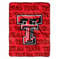 Texas Tech Red Raiders Micro Grunge Blanket