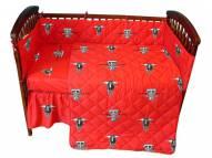 Texas Tech Red Raiders NCAA Baby Crib Set