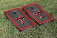 Texas Tech Red Raiders Onyx Stained Border Cornhole Game Set